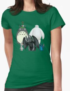 Animated Cute Womens T-Shirt