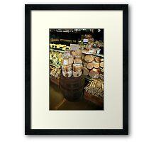 Deli delight Framed Print