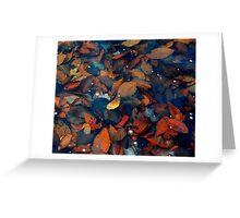 All The Leaves Are Gone Greeting Card