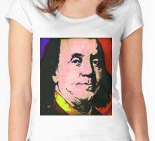BENJAMIN FRANKLIN Women's Fitted Scoop T-Shirt