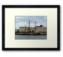 Pirates of the Caribbean Ship Framed Print