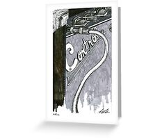 Friendly Advertising Greeting Card