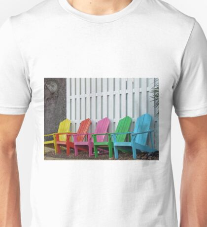 Beach Chairs Unisex T-Shirt