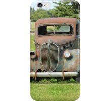Parked Vintage Truck iPhone Case/Skin