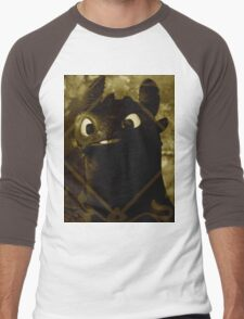 Toothless the night fury Men's Baseball ¾ T-Shirt
