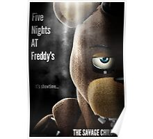 Five Night's At Freddy's: Freddy - Poster Poster