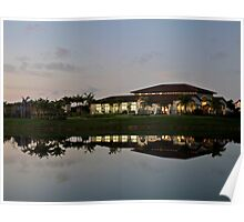 Clubhouse At Lakes By The Bay (Cutler Bay, Fla) Poster