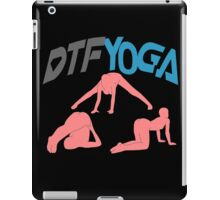 DTF Yoga iPad Case/Skin