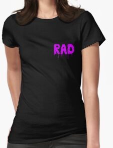 Totally Rad - Pocket Womens Fitted T-Shirt