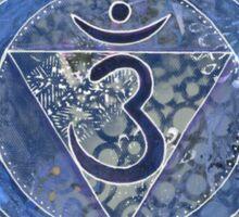 Sixth Chakra Mandala  Sticker