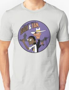 Troy and Abed in Black and Tan T-Shirt