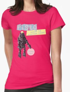 Programmed For Your Pleasure. Womens Fitted T-Shirt
