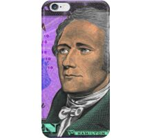 ALEXANDER HAMILTON-TEN DOLLAR BILL.jpg iPhone Case/Skin