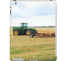 Tractor on a Field iPad Case/Skin