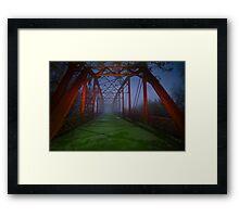 Bridge to Eternity Framed Print
