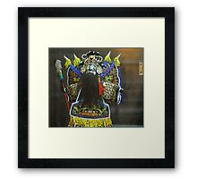 puppet person Framed Print