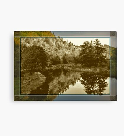 Nostalgic Reflections Canvas Print
