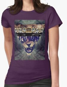 wildest cats  Womens Fitted T-Shirt