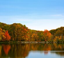 Autumn on the Lake by Catherine Mardix