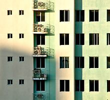 Five Balconies  by Valerie Rosen