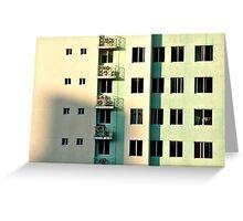 Five Balconies  Greeting Card