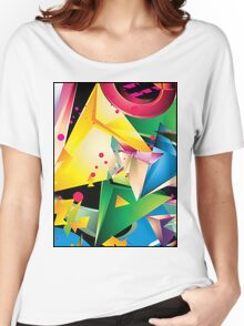 Abstract Design (Large Graphic) Women's Relaxed Fit T-Shirt