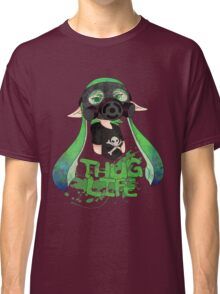 Squid AND a Kid -Green- Classic T-Shirt