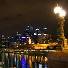 City Lights, Melbourne.  by Margaret Stanton