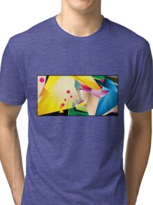Abstract Design (Small Graphic) Tri-blend T-Shirt