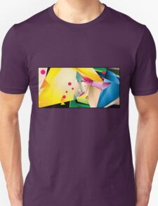 Abstract Design (Small Graphic) T-Shirt