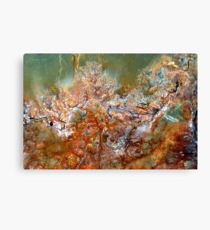 Sogni Verdi Canvas Print