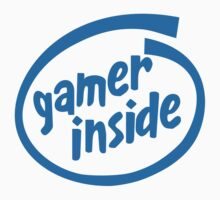 Gamer Inside by tuliptreetees