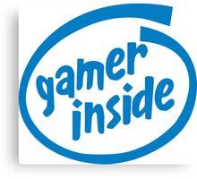 Gamer Inside Canvas Print