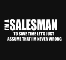 I Am A Salesman Baby Tee