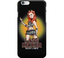 Becky Lynch - Lass Kicker iPhone Case/Skin