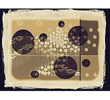 Yahm  Vintage - Rice Paper Screen Photographic Print