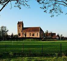 Another Frisian village church by jchanders