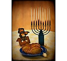 Happy Hanukkah! Photographic Print