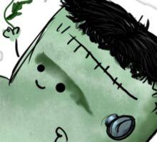 Frankie, the Marshamallow Frankenstein's Monster Sticker