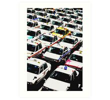 Taxi !! Art Print