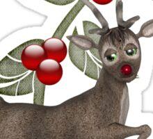 Dancing Reindeer Tee Sticker