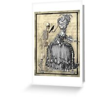 Halloween Masquerade Ball Greeting Card