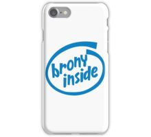 Brony Inside iPhone Case/Skin