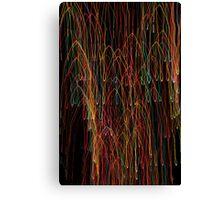 Suburb Christmas Light Series - Xmas Cathedral Canvas Print