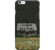 Little house in the woods iPhone Case/Skin