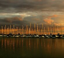 Sailboats at Samuel Smith by Jessica Dzupina
