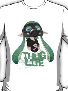 Kid AND a Squid -Teal- T-Shirt