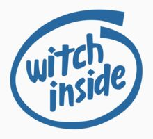Witch Inside Kids Clothes