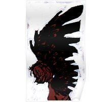 Dark Angel A Painting by Ravenart Poster