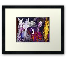 Once Upon A Fantasy There Was A Place... Framed Print